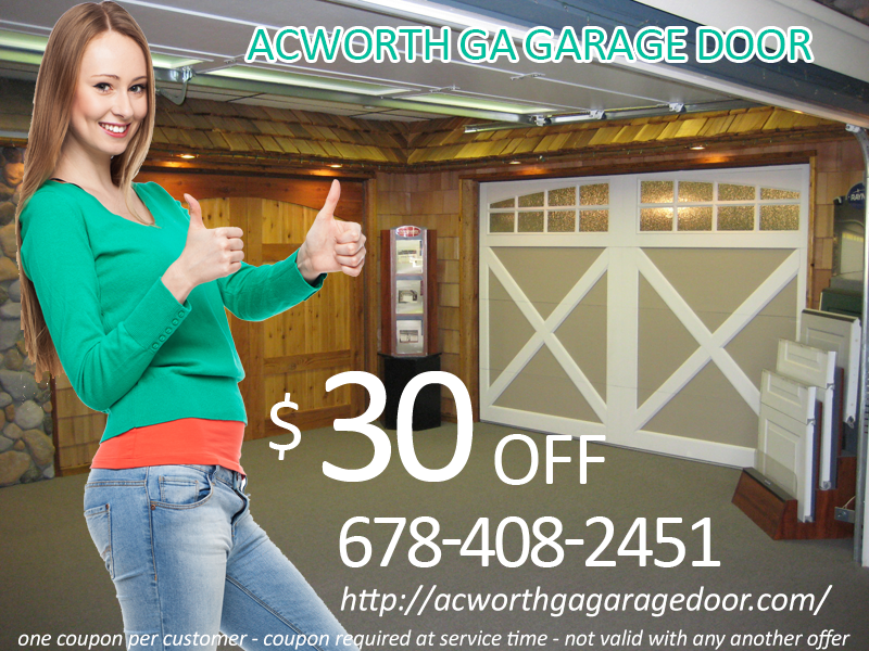 Acworth GA Garage Door Offer